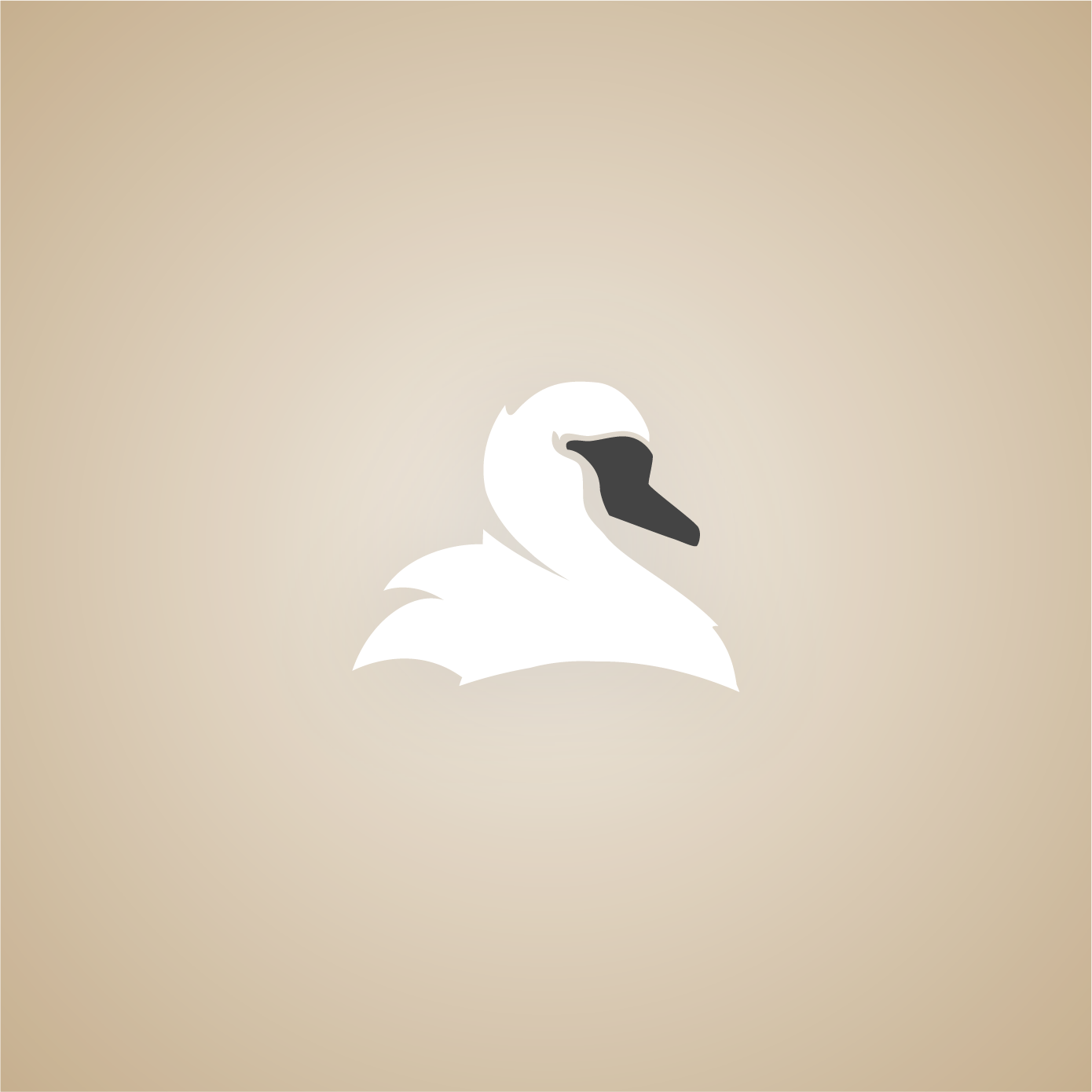 Small logo depicting a white swan with a dark snout